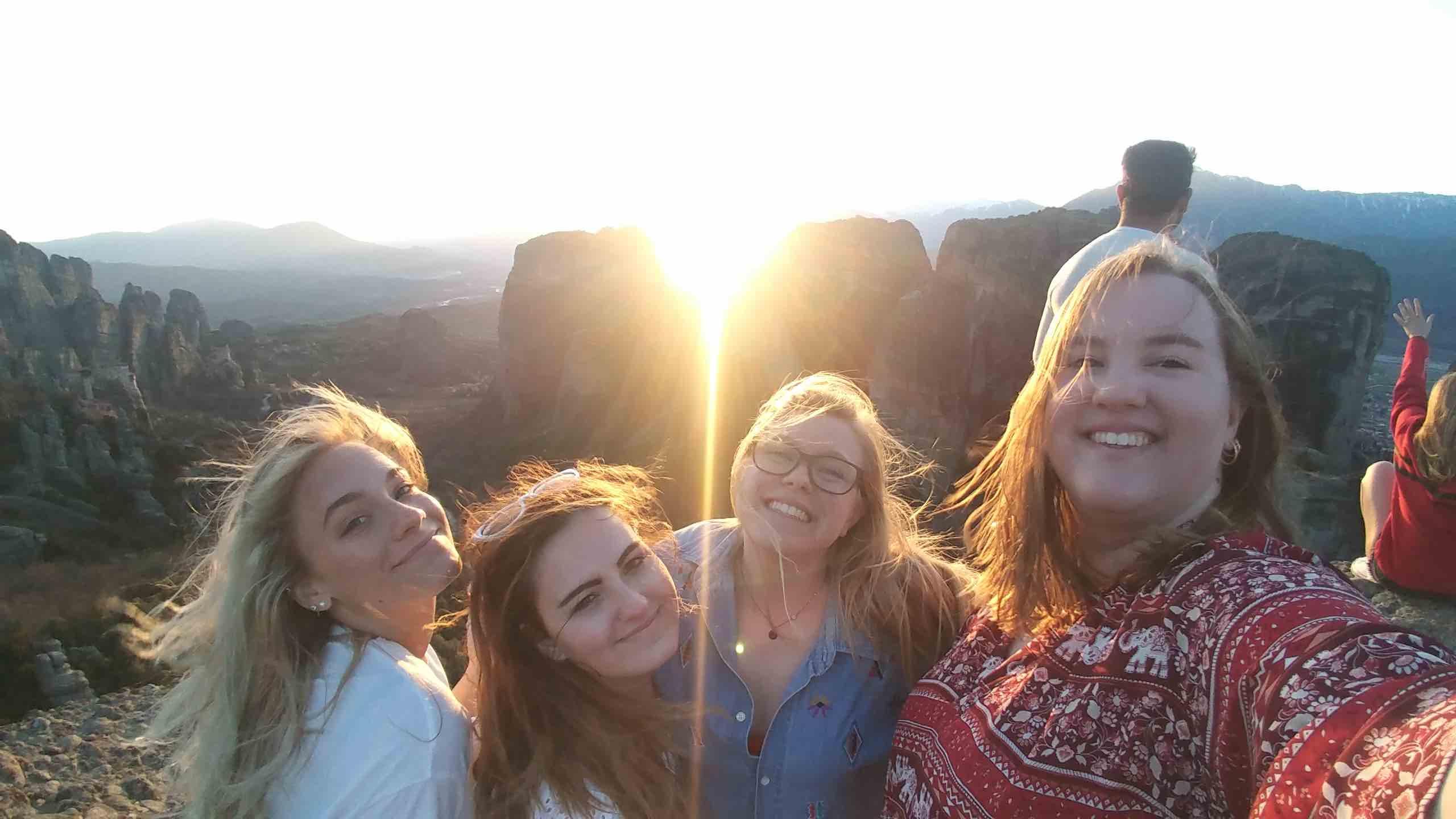 SP19_Semester in Greece - Hellenic American University_Alexis Ingebretsen_University of Wisconsin Milwaukee_Meteora and friends