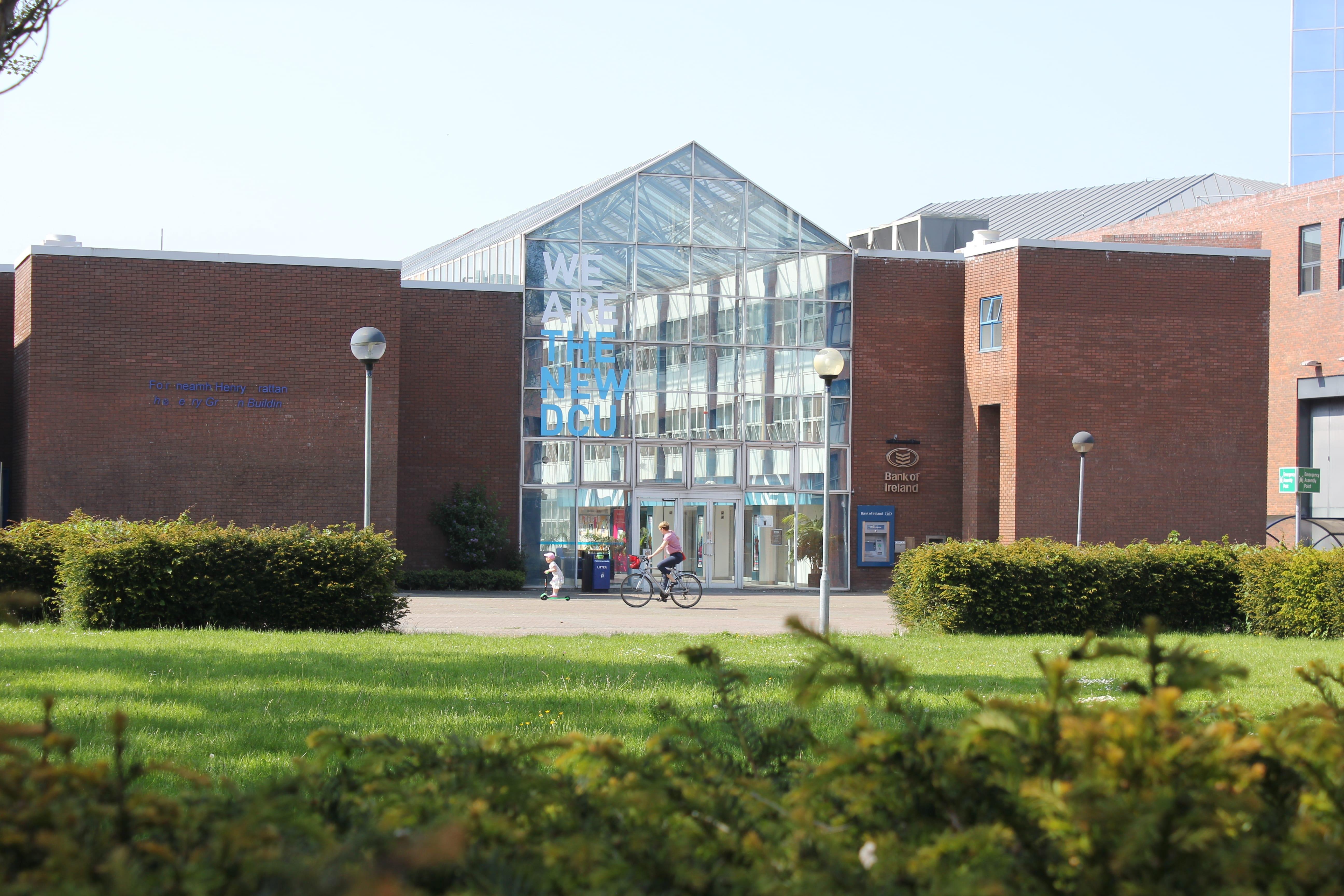 Dublin City University - campus photos - the new dcu