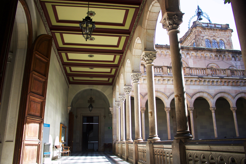 University of Barcelona campus - Hallway UB 2