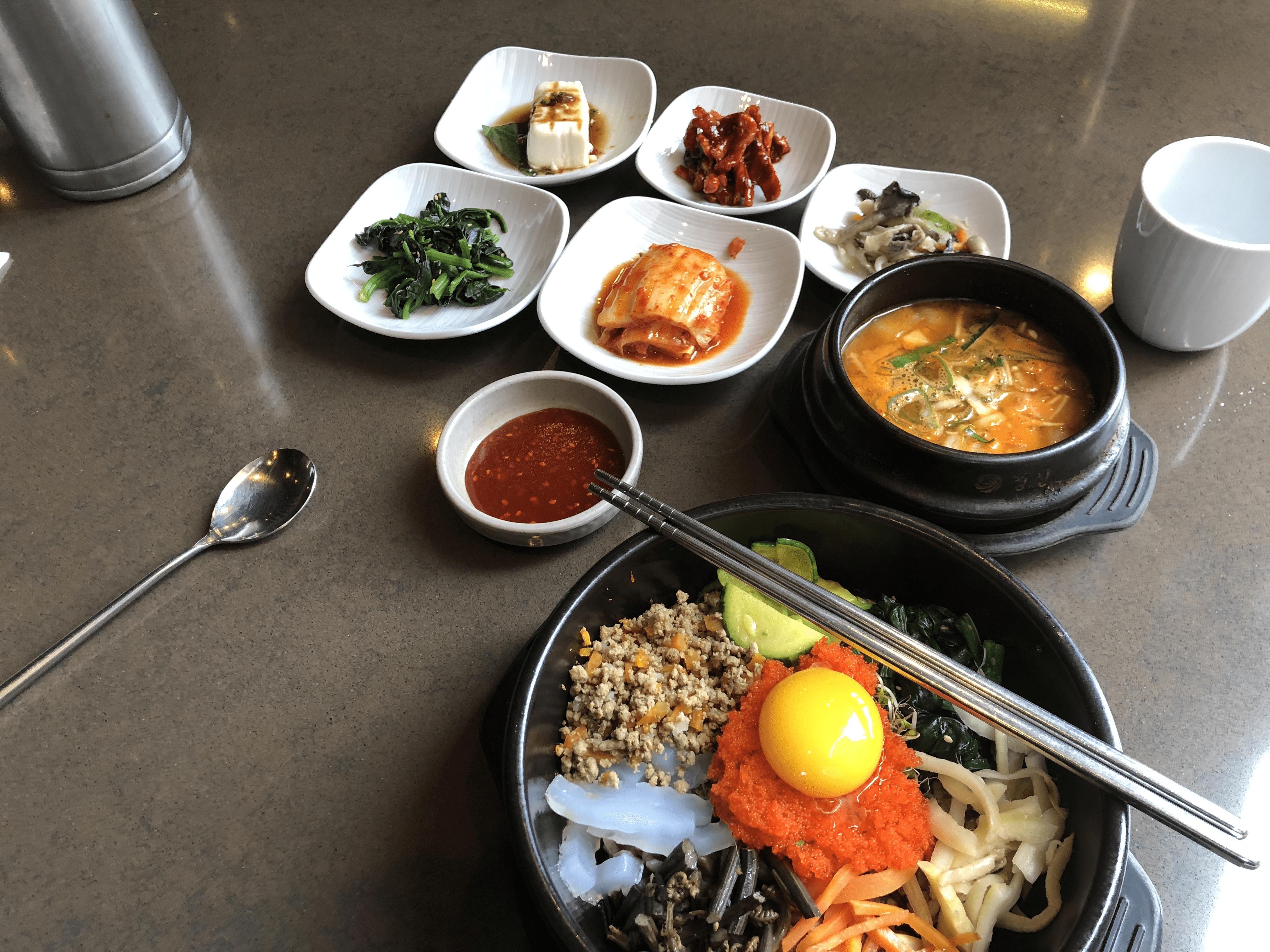 Seoul meal bimimbap