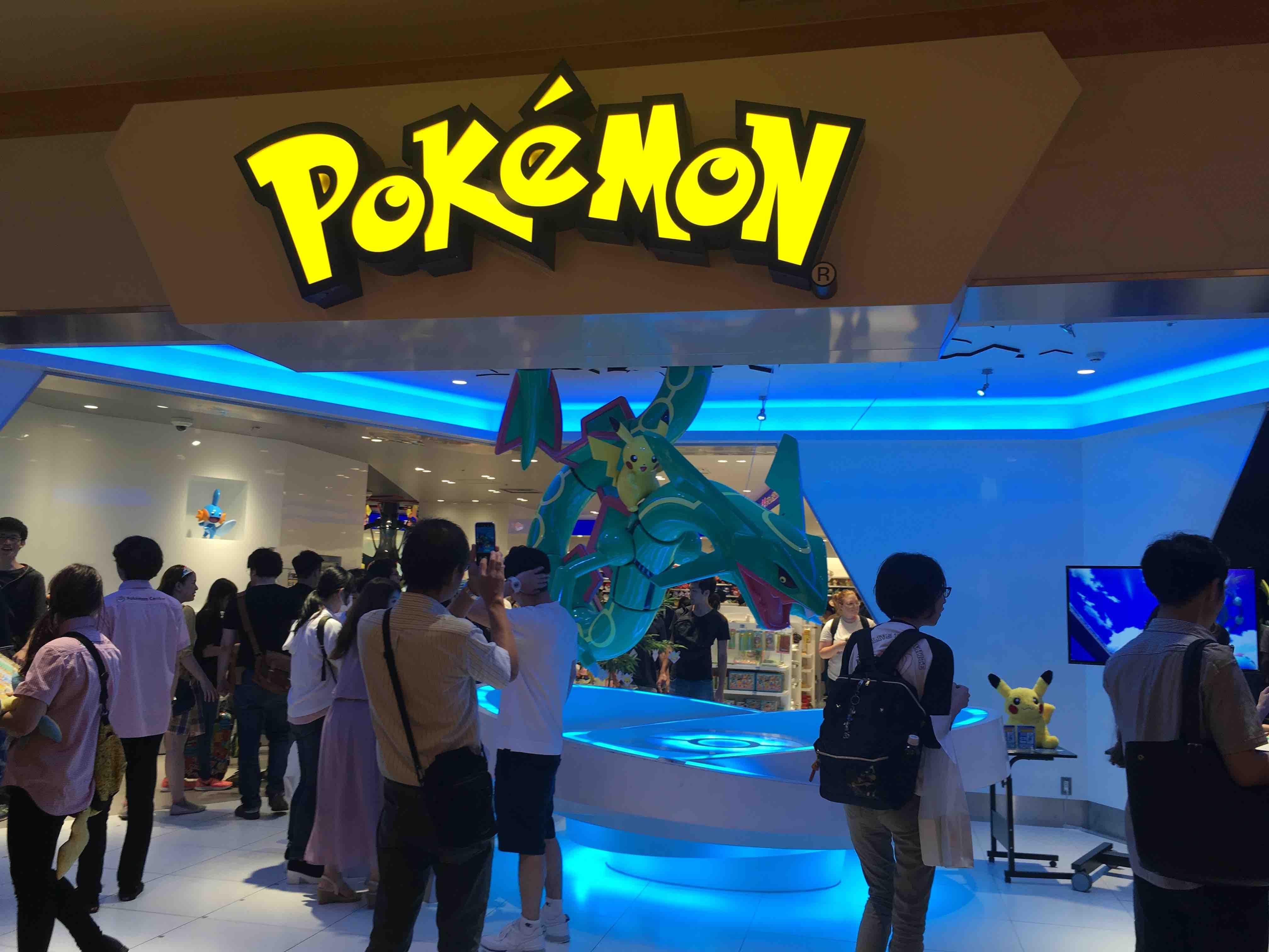 Pokémon first day in tokyo